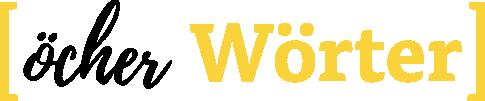 Logo Öcher Wörter